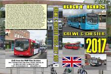 3588. Cheshire. UK. Buses. July 2017. Our latest June visit to Crewe bus station