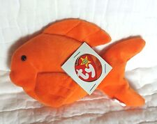 NWT MINT Ty Beanie Baby RARE 4th / 3rd Gen, 1993 PVC, GOLDIE the Gold Fish