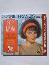 CONNIE FRANCIS - sings FOR MAMA TR CD 1254 VERY RARE 2019' NEW !