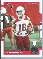 2017 Donruss Cardinals Cards: Chad Williams - Rookie Card - Wide Receiver