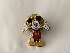 Disney Mickey Mouse with open arms trading pin