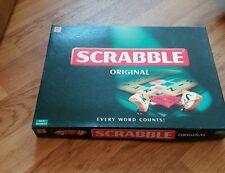 2003 ORIGINAL SCRABBLE LOVELY CONDITION MATTEL GAMES 100% COMPLETE MATTEL XMAS