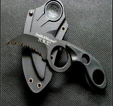 Survival Knife Steel karambit Claw Knife with Sheath Mini Pocket Knife