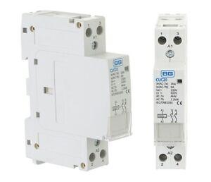 BG CUC20 Contactor NO 20A DP Normally Open Double Pole