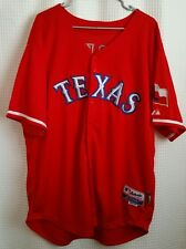 Texas Rangers Profar #2 Red Majestic Jersey Adult Sz 50