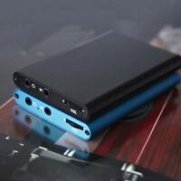Portable 3.5mm HIFI Headphone Amplifier Audio Amp Earphone Stereo Mini