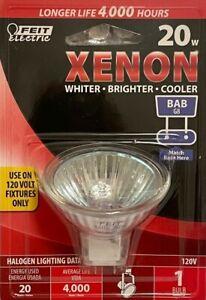FEIT ELECTRIC 20-Watt G8 120-Volt Xenon Halogen Reflector Flood Light Bulb - BAB