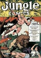 Fiction House Jungle Comics and Kaanga Comics ON DVD