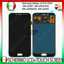Display LCD Touch Screen Per Samsung Galaxy J2 Pro 2018 SM-J250 Schermo NERO