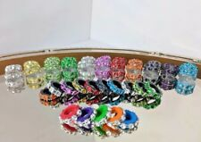Littlest Pet Shop Accessories Custom Jeweled Collars - Lot of 6 (Random)  LPS