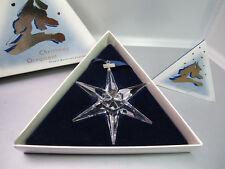 SWAROVSKI STELLA NATALE 1993 CHRISTMAS STAR ORNAMENT - NUOVO DA NEGOZIO - 174969