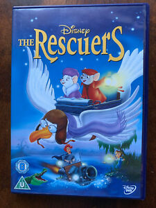 The Rescuers DVD 1977 Classic Walt Disney 23rd Animated Family Film Movie