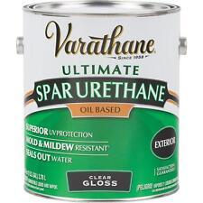 1 Gal Varathane Exterior Wood Marine Deck Siding Clear Gloss Spar Urethane 9231