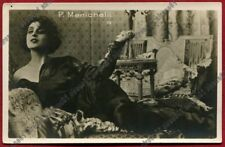 PINA MENICHELLI 33 ATTRICE ACTRESS CINEMA MUTO SILENT MOVIE - CASTROREALE