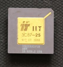 387 FPU NPU - IIT 3C87-25 - 25MHz - TESTED