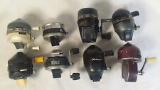Vintage Spinning Reel Lot - Shimano FX-II  Zebco 202 Shakespeare South Bend