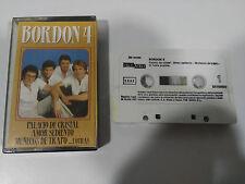BORDON 4 EXITOS CINTA TAPE CASSETTE AMALGAMA 1987