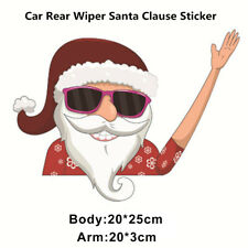1Pcs Creative Santa Clause Car Rear Windshield Wiper Decal Christmas Sticker Kit