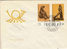 Ersttagsbrief DDR MiNr. 2142, 2143, Staatliche Museen Berlin: Bronzeplastiken