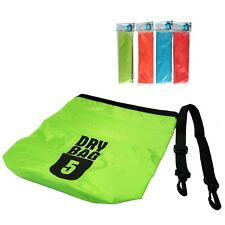 Water Proof Bag Wasserdichte Tasche Beutel Sack 5L  Drybag Seesack Kayak Kanu