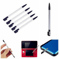 5pc Retractable Black Stylus Touch Screen Pen For New Nintendo 3DS LL/XL Console