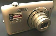 Nikon Coolpix  S3500 7x zoom 20.1 Megapixels 30028426