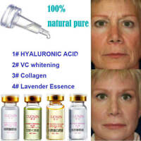 100% natural pure firming collagen strong anti wrinkle HYALURONIC ACID Serum New
