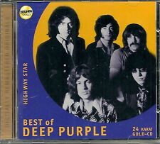 Deep Purple Highway Star 24 Karat Zounds Gold CD