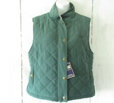 New Riding Sport Vest S Small Green Quilted Equestrian Horseback Riding