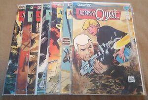 Jonny Quest #1, 2, 3, 4, 7, 11, 12, (Comico 1986)
