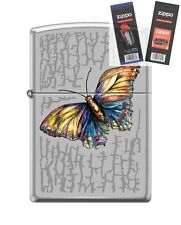 Zippo 6575 Butterfly Lighter with *FLINT & WICK GIFT SET*
