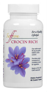 CROCIN RICH - for eye, body and mind - 60ct/bottle for 2 months