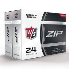 Wilson Staff ZIP Golfbälle 24er Pack Sparpackung  SALE UVP 44 € SALE UVP 44 €