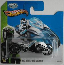 Hot Wheels - Max Steel Motorcycle / Motorrad weiß Neu/OVP