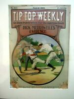 1912 -TIP TOP WEEKLY 5c-# 859  DICK MERRIWELL'S EVIDENCE-Matted & Acid Free Back