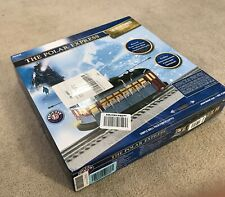 LIONEL 1923130 THE POLAR EXPRESS MOTORIZED TROLLEY SET TRAIN O GAUGE FASTRACK
