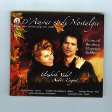 CD ELIZABETH VIDAL ANDRE COGNET RARE FRENCH SONGS AND DUETS GOUNOD DELIBES