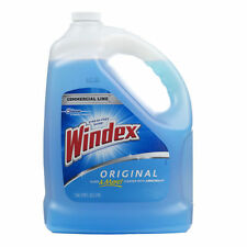 Windex 128-fl oz Glass Cleaner Gallon Commercial Line Pro Blue Refil New