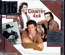ULTIMATE COUNTRY HITS 4x4 Various Artists 2005 NEW CD Marty Stuart Tracy Byrd