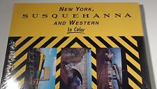 MORNING SUN NEW YORK SUSQUEHANNA & WESTERN IN COLOR BOOK