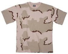 US 3 color Desert Army camouflage short sleeve tarnshirt shirt tshirt  Large