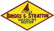 Briggs & Stratton Gas Engine Motor Decal Hit & Miss Y M H ZZ A B F Z T FH FI