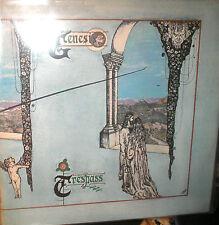 Genesis - Trespass - LP von 1970 mit Textblatt