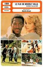 FICHE CINEMA : LE FLIC DE BEVERLY HILLS - Murphy,Reinhold 1984 Beverly Hills Cop
