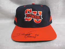Dwight Freeney Signed Syracuse Orangemen Twins Enterprise Inc Cap Hat Chargers