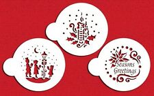 Seasons Greeting Cookie Stencils by Designer Stencils #C463