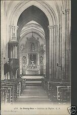 Le Bourg-Dun - Interieur de l'Eglise  _ Old Unposted Postcard