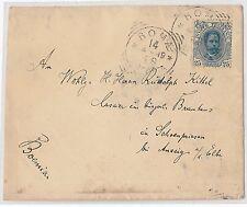 54831 - REGNO: UMBERTO I - STORIA POSTALE :  BUSTA a BOHEMIA 1899 - 25 Cent.