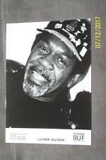 LUTHER ALLISON - publicity pix