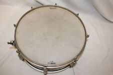 """Vintage Slingland Drum Co. 14"""" Snare Drum Wood Shell Maple Duco Finish c. 1950"""